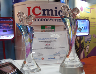 ICmic awarded Malaysia's Top Most Innovative SME 2010